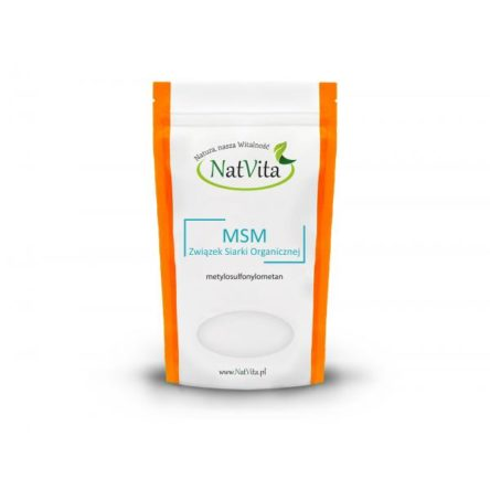 MSM siarka organiczna proszek doypack – 400 g