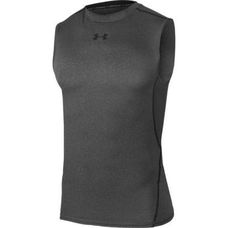 Koszulka termoaktywna Under Armour HeatGear Compression Sleeveless M 1257469-090