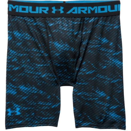 Spodenki kompresyjne Under Armour HeatGear® Armour Printed Compression M 1257473-428