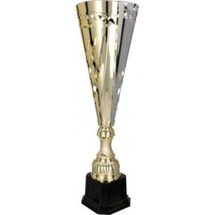 Puchar metalowy złoto-srebrny