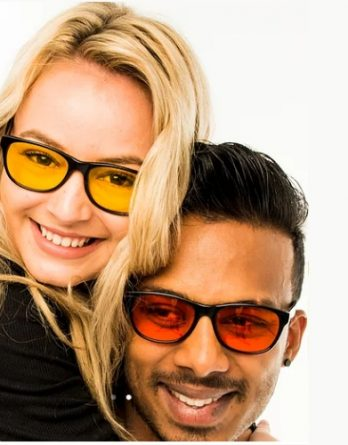 3d. Okulary BIOHACKER - Filtr Światła Niebieskiego i Zielonego